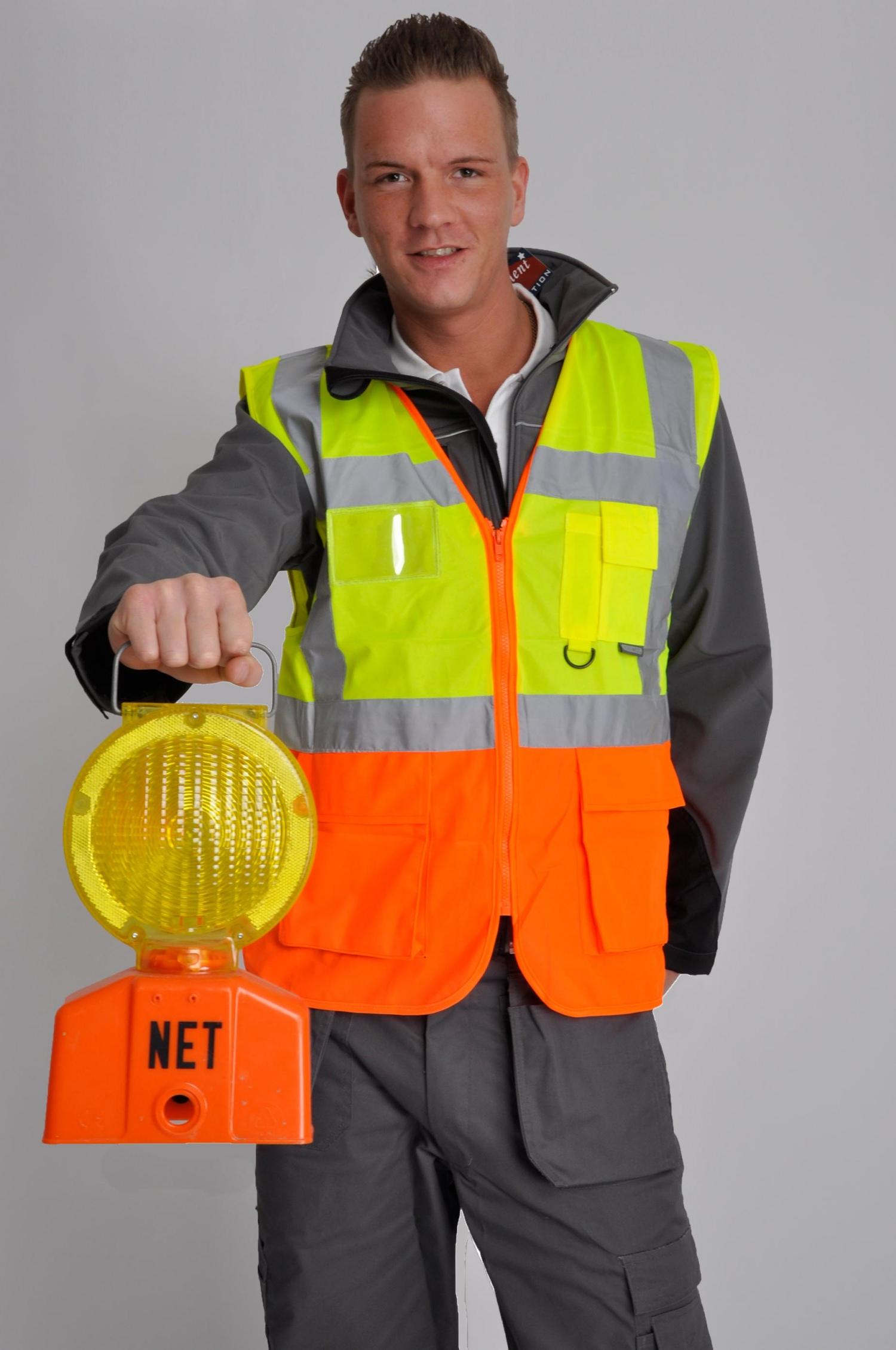 Reflexionsbekleidung für Fußgänger, Fahrradfahrer und alle, die draußen arbeiten.