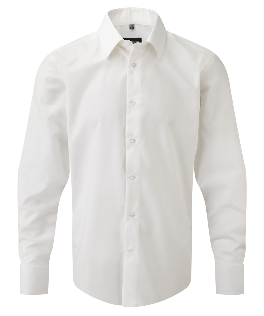 Oxford tailored Herrenhemd langarm