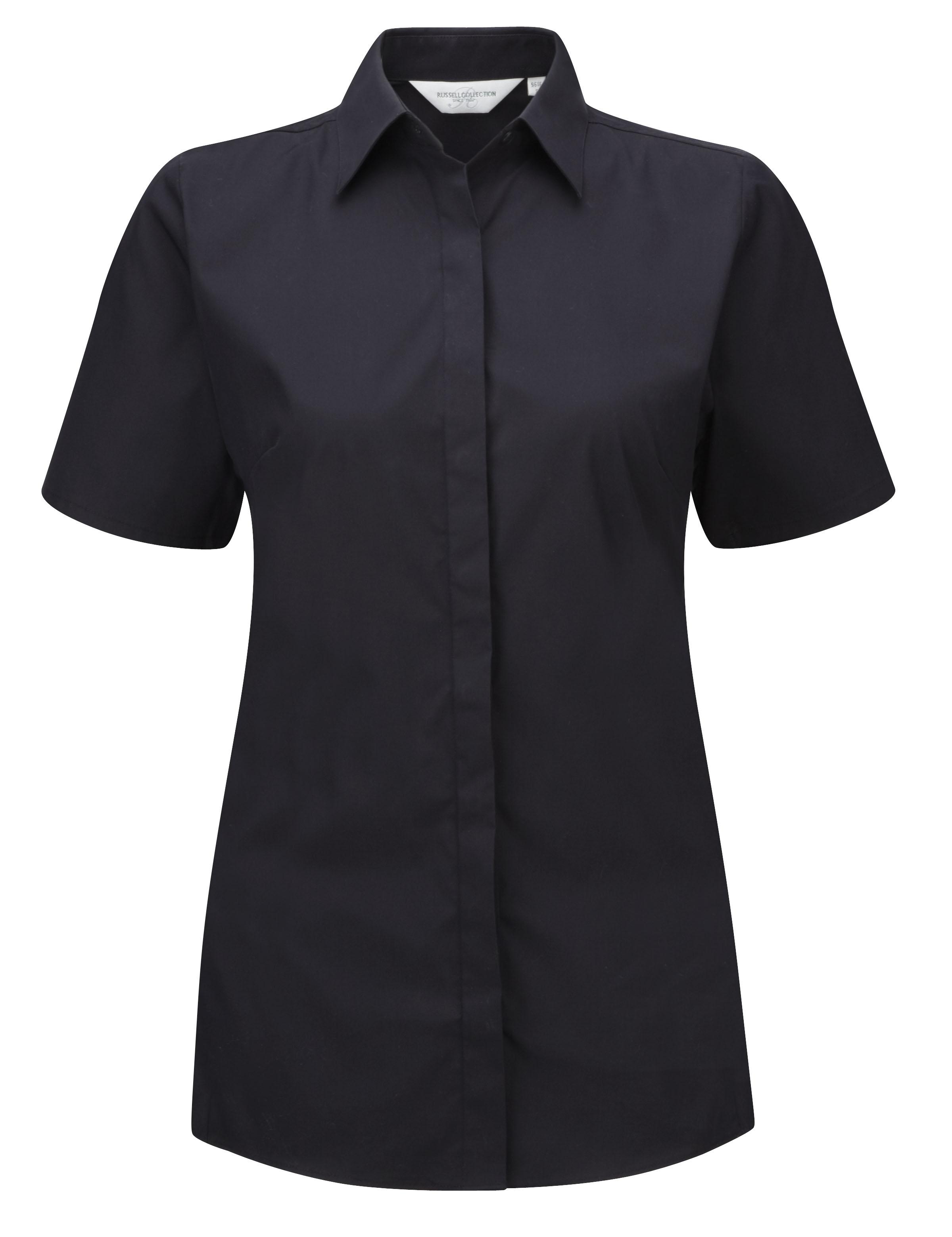 Ultimate Stretch Bluse kurzarm