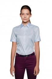 Damen kurzarm Bluse Premium-Business