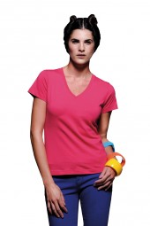 Damen V-Neck T-Shirt Classic