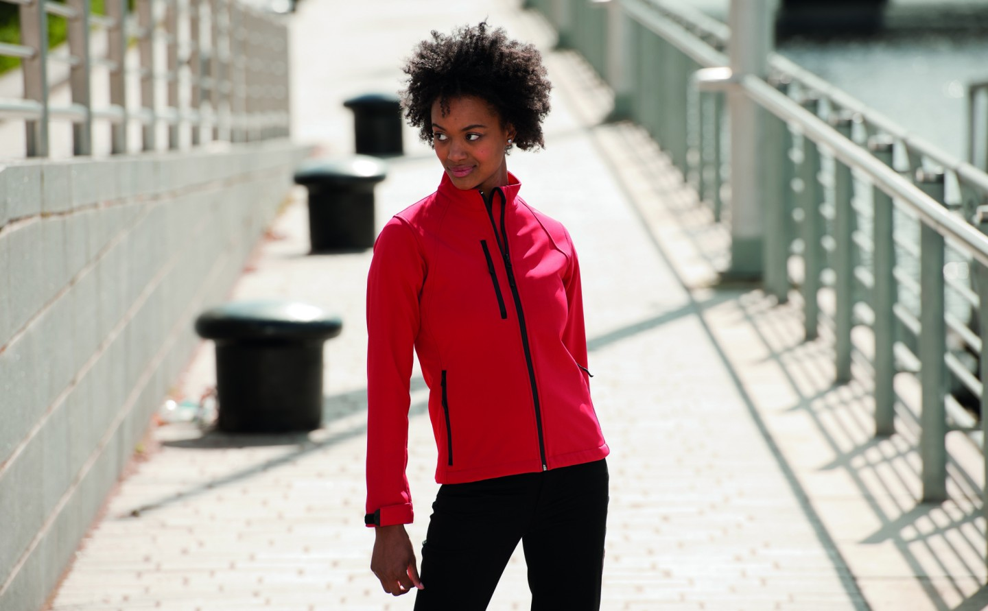 Women's Outdoor Softshell Jacke