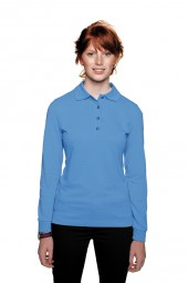 Damen Poloshirt Performance Langarm