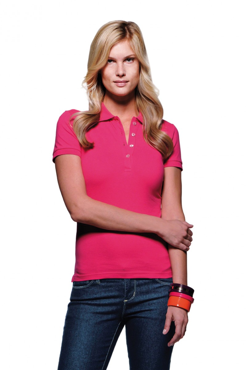 Damen Premium Stretch-Poloshirt