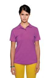 Damen Poloshirt Top