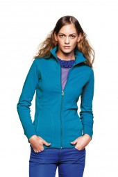 Damen Interlock Sweatshirtjacke