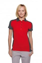 Damen Poloshirt Performance Contrast