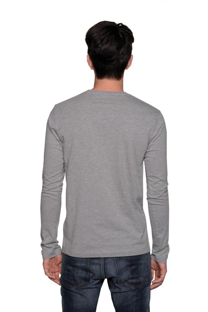 Herren Longsleeve T-Shirt Heavy