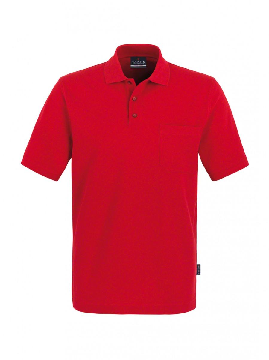 Poloshirt Top mit Brusttasche