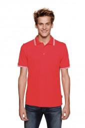 Herren Poloshirt Twin-Stripe