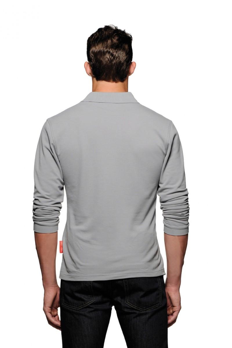Herren Poloshirt Performance Langarm