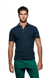 Herren Premium Stretch-Poloshirt