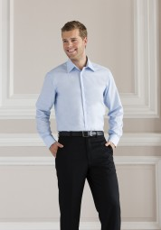 Oxford tailored Herrenhemd langarm