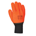 Wetterfester Warn-Handschuh