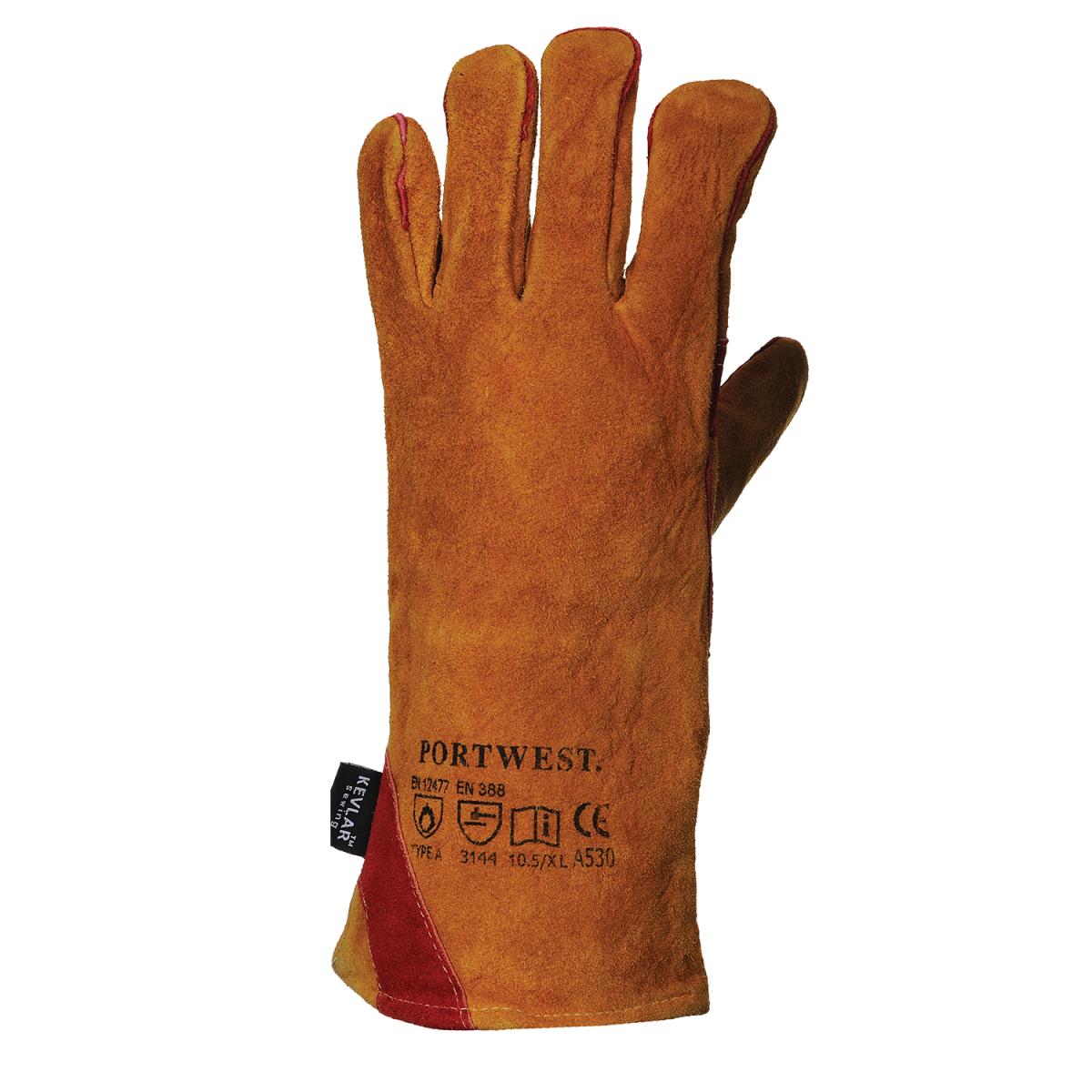 Schweißerschutzhandschuh nach EN12477 TYP A