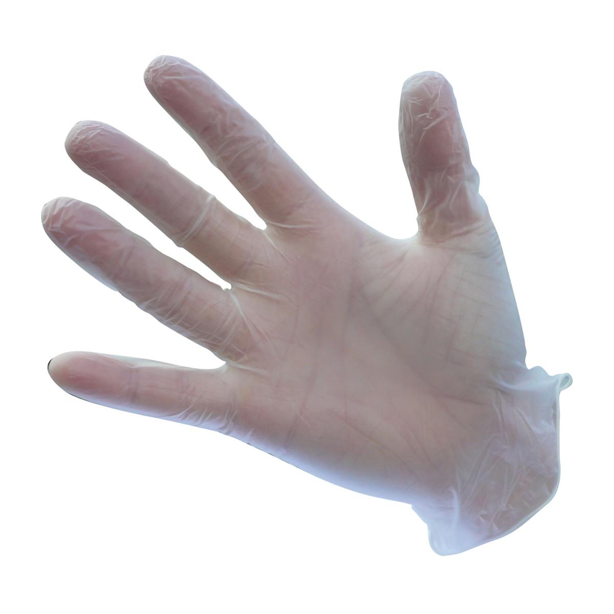 Vinyl Einweghandschuhe gepudert oder ungepudert