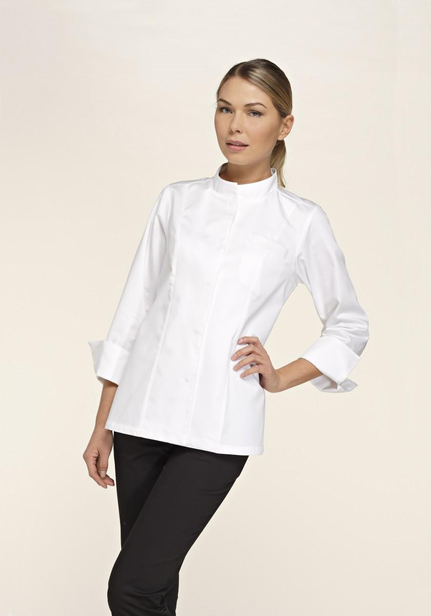 CHEFstyle Damen Kochjacke im Blazer-Schnitt