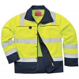 Multinorm Warnschutz Arbeitsjacke