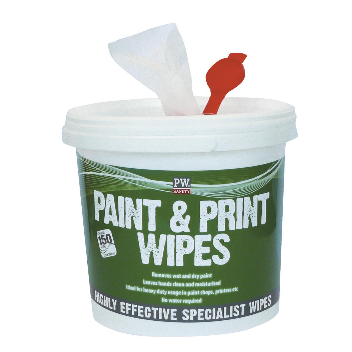 Reinigungstücher für Farben und Lacke