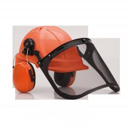 Schnittschutz Helm-Set
