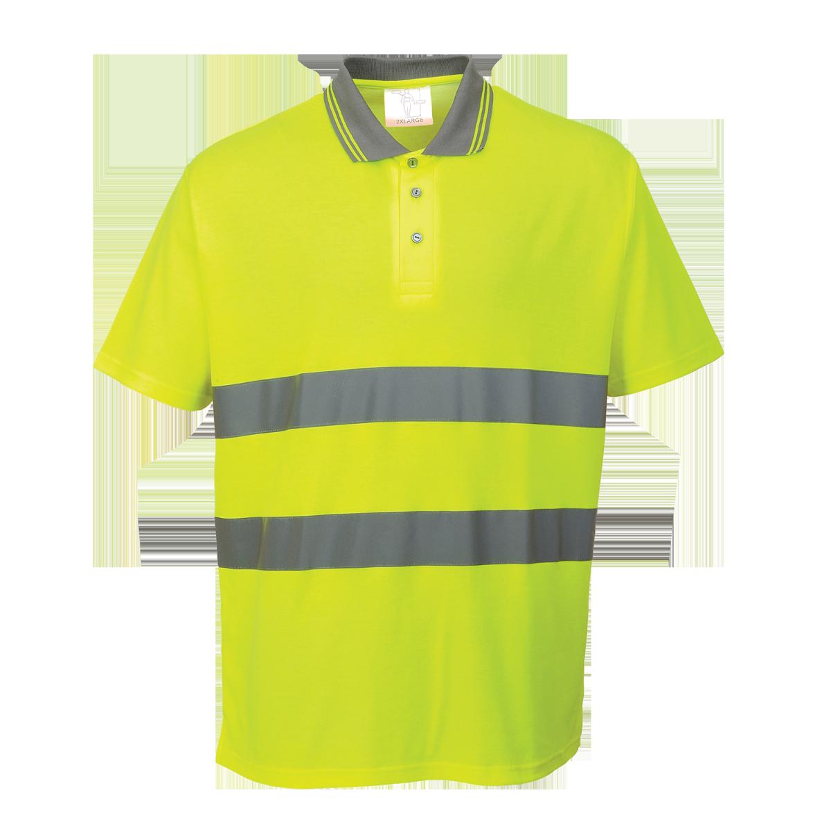 Warnschutz Poloshirt Hi-Cool