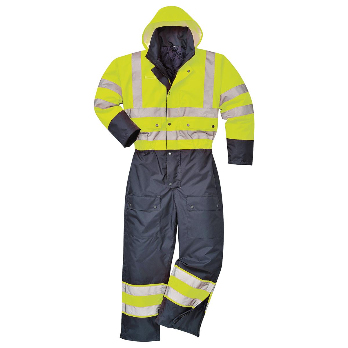 Gefütterter Warnschutz-Overall