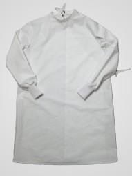 OP Kittel mit Rückenverschluss, waschbar